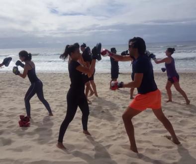 beach workout surfers paradise