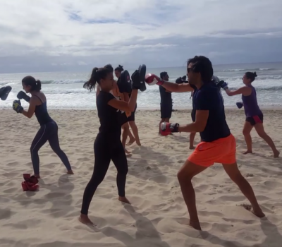 beach workout surfers paradise
